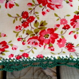 Lace Edged Cushion