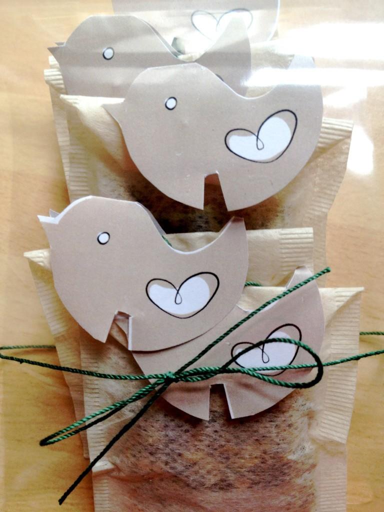 gift teabags DIY
