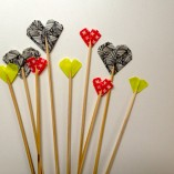 Heart Shaped Cake Toppers