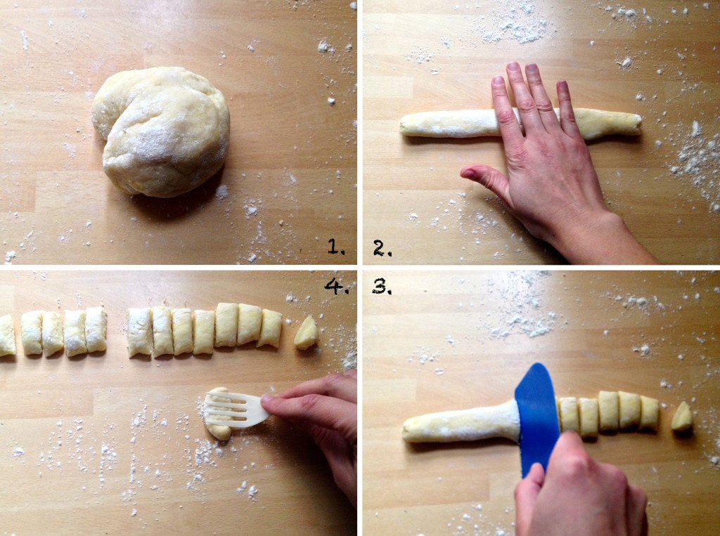 Gnocchi making basics step by step