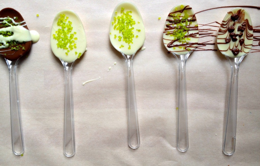Chocolate Spoons DIY