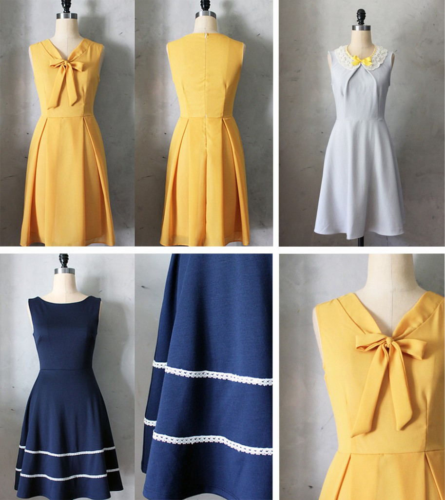 Spring dresses from fleet collection