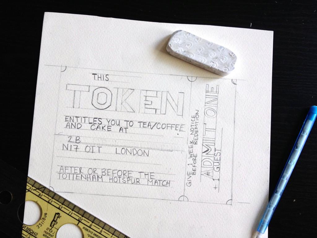 Handmade gift token printable