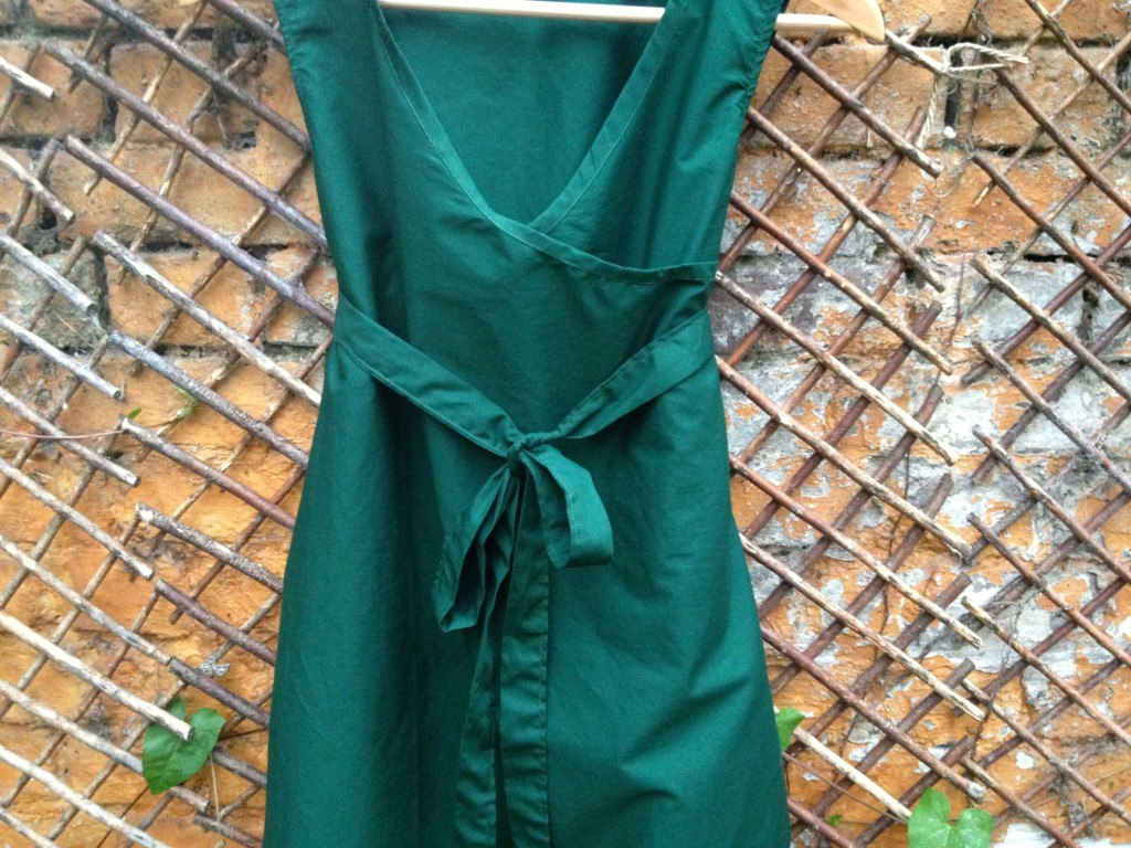 Wrap dress DIY