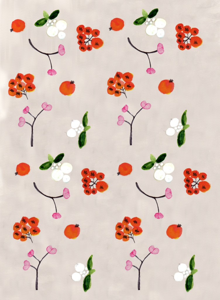 Friendly Nettle autumn pattern