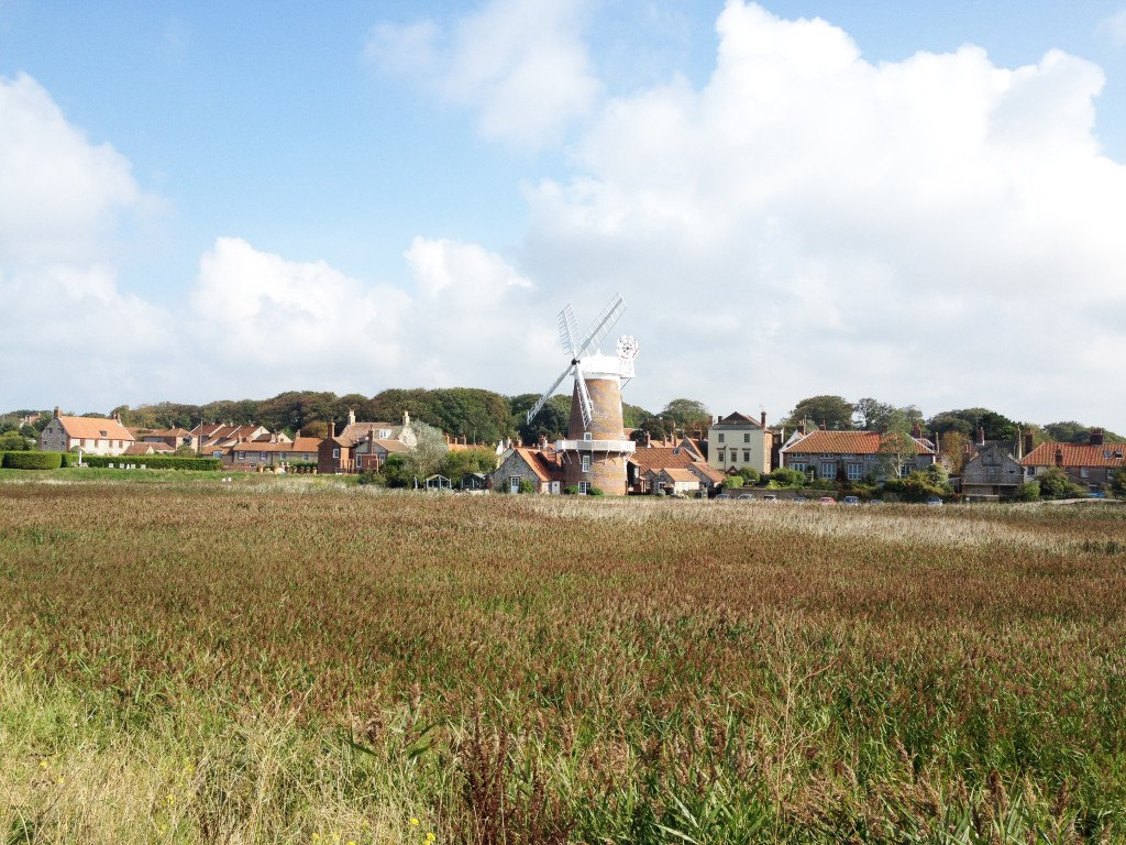 countryside in Cley