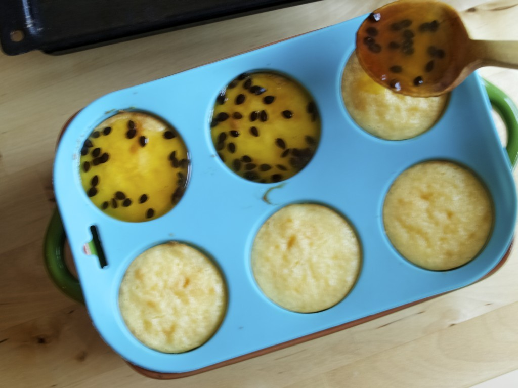 Mini Passion Fruit Cheesecakes recipe