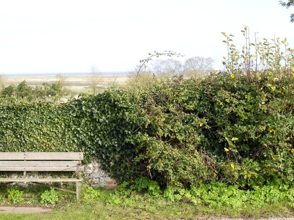 Cley next to the sea (visiting our granny)