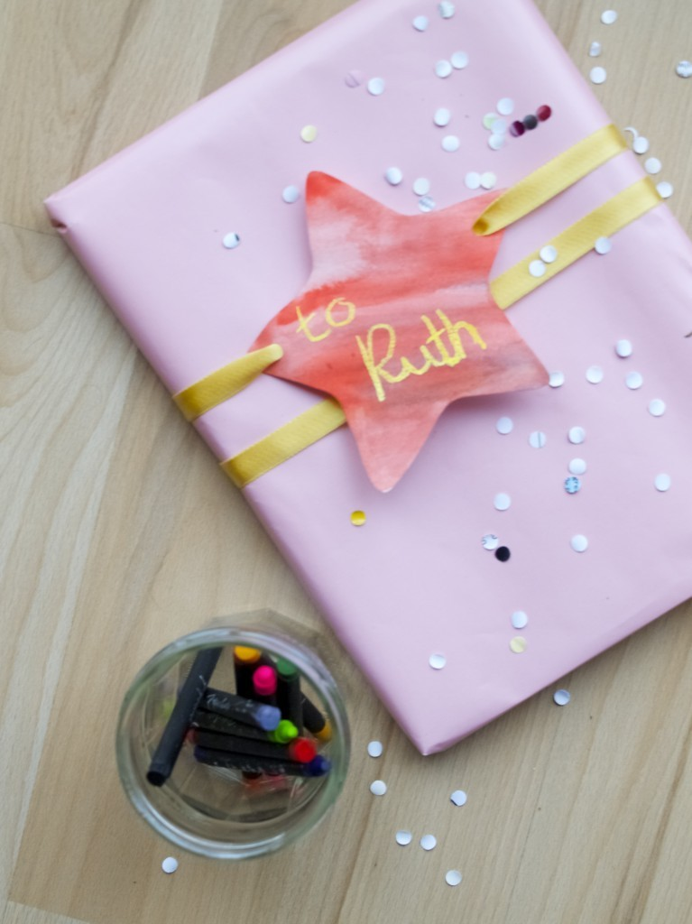 handmade gift tags DIY