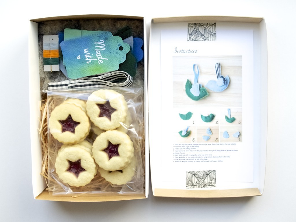 New in Friendly Nettle Shop: Hanging birdie kit