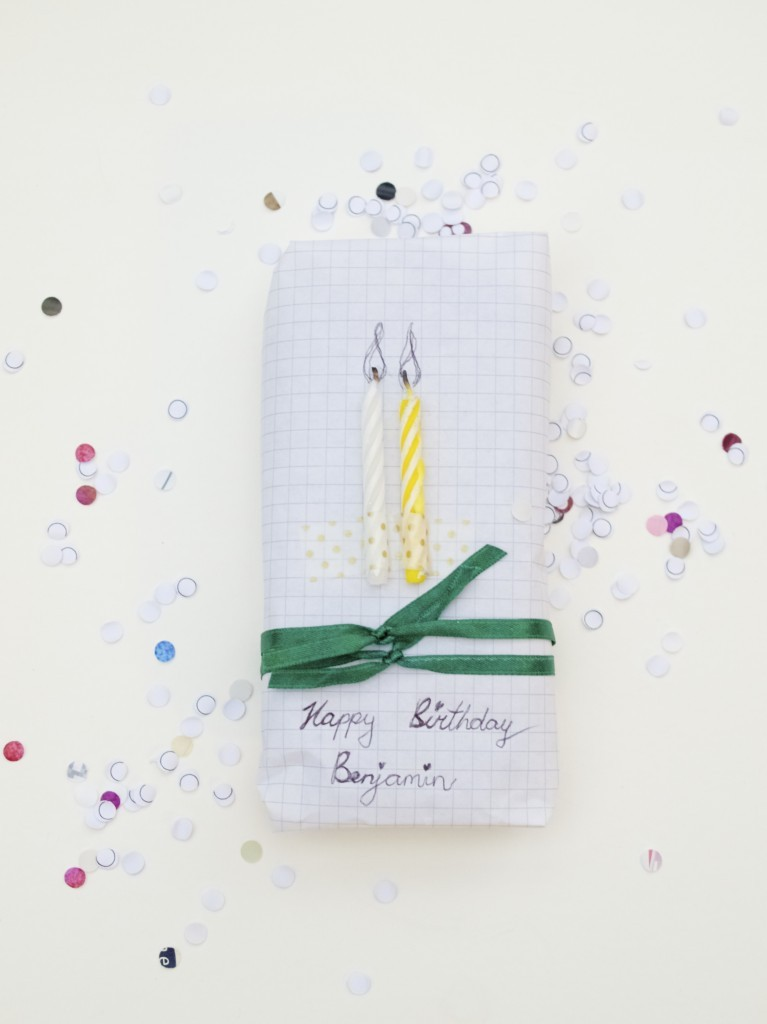 Birthday gift idea for kids + wrapping