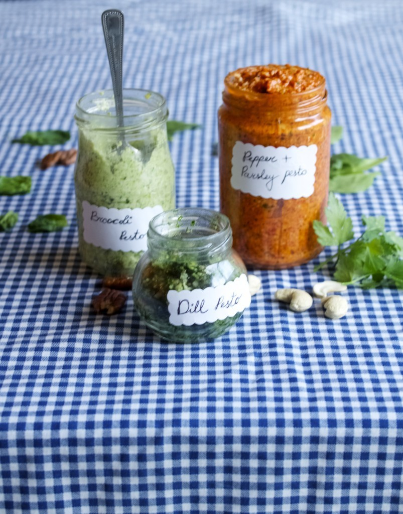 How to make a pesto, any pesto!