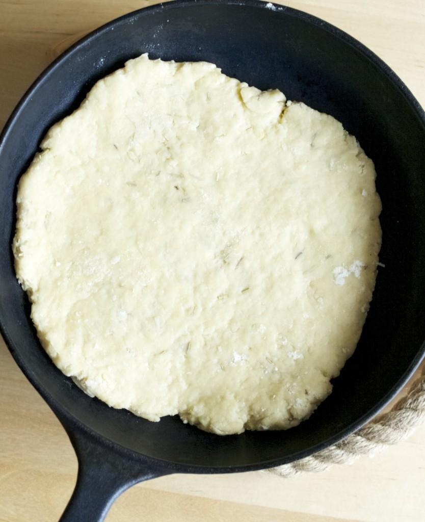 skillet scones recipe