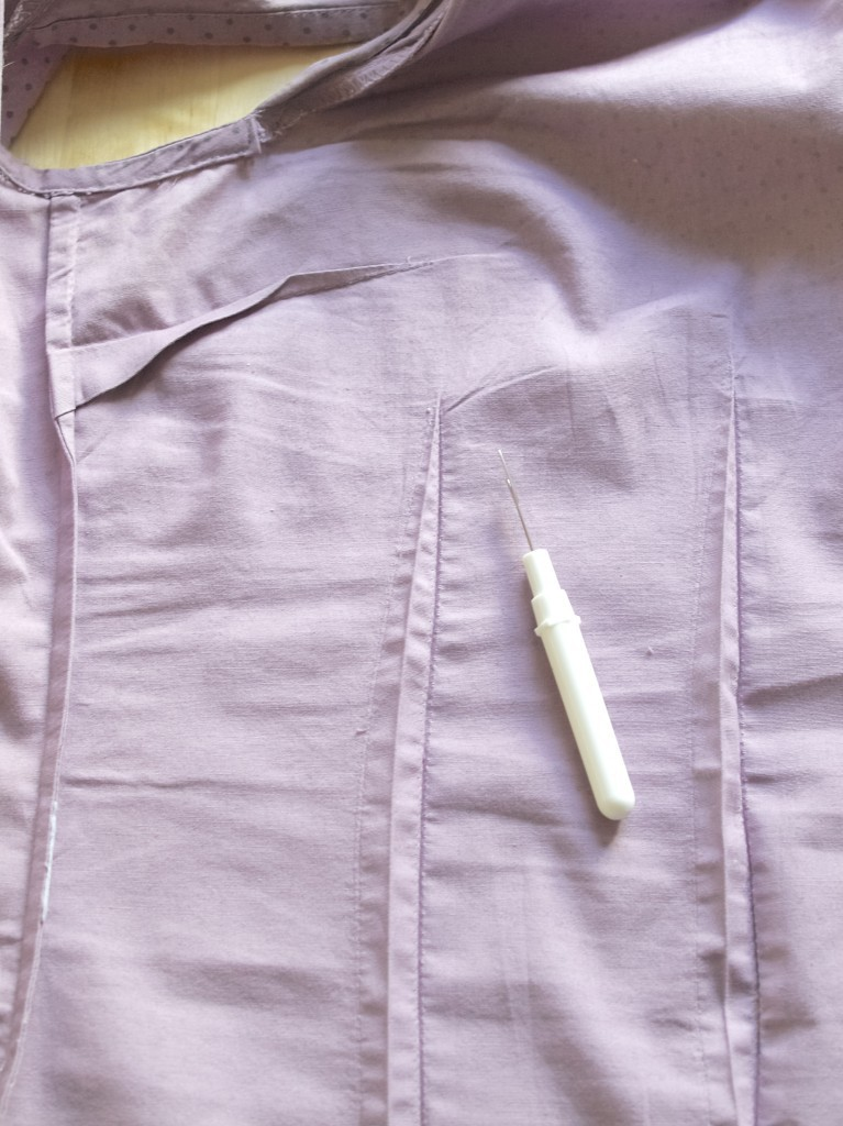 How to make fitted shirt become slightly  loose