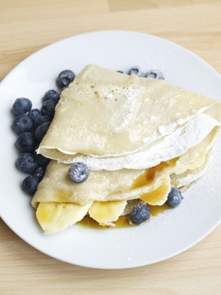 Buckwheat batter pancakes recipe