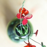 Painted Wire Flowers