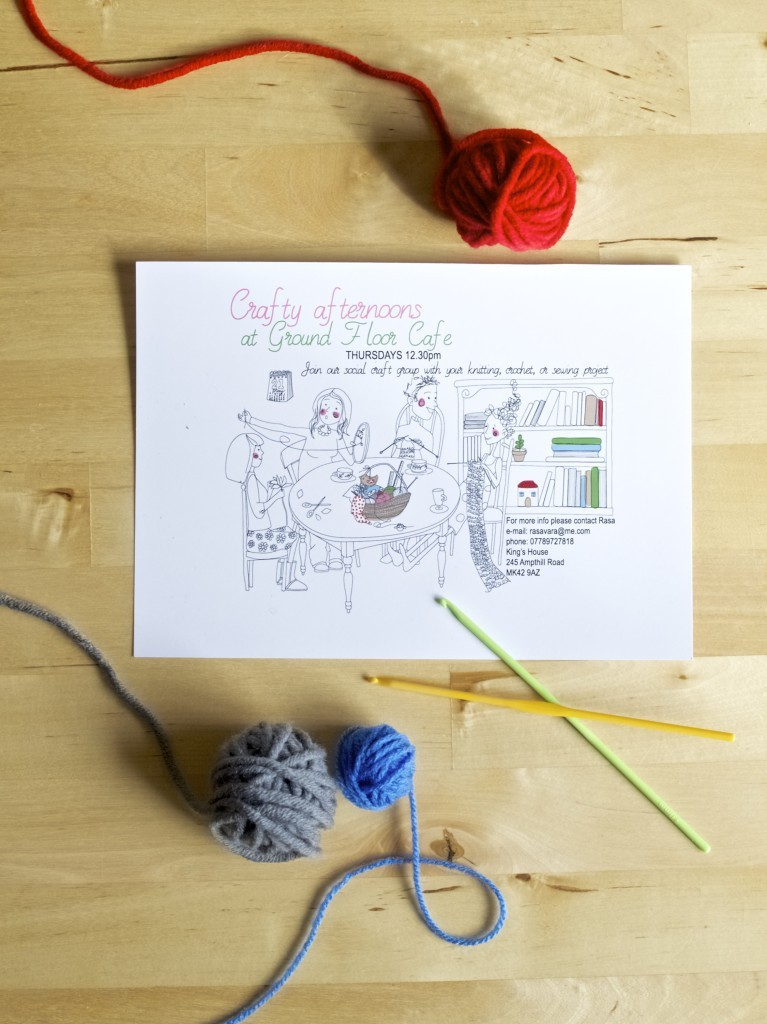 Crafty afternoons in Bedford (join us please!)