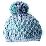 Crochet Hat With Ribbing