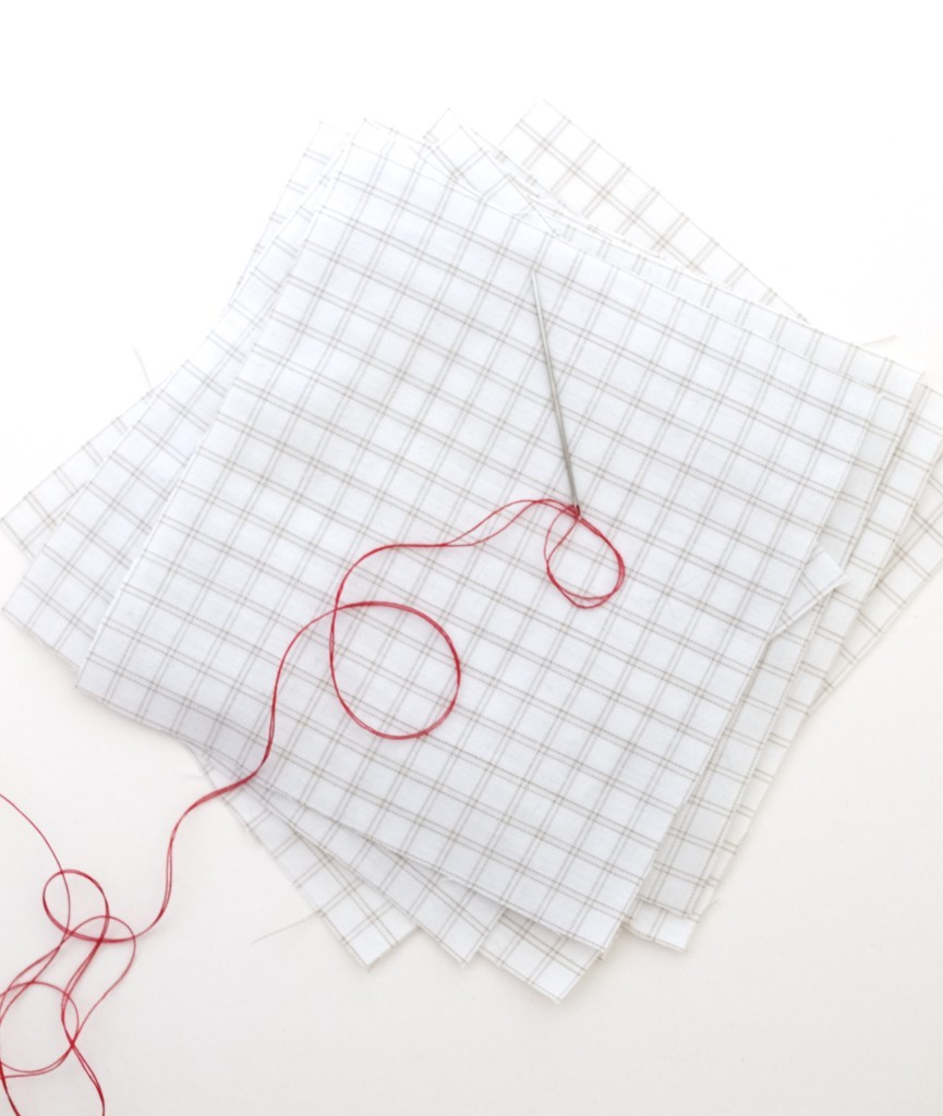 hand stitching tutorial, how to sew without a sewing machine