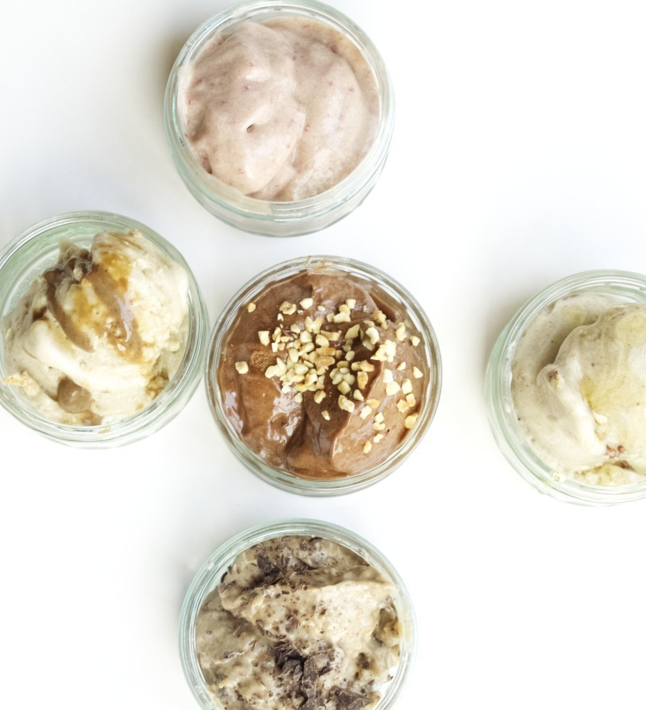 One ingredient ice cream (well... almost)