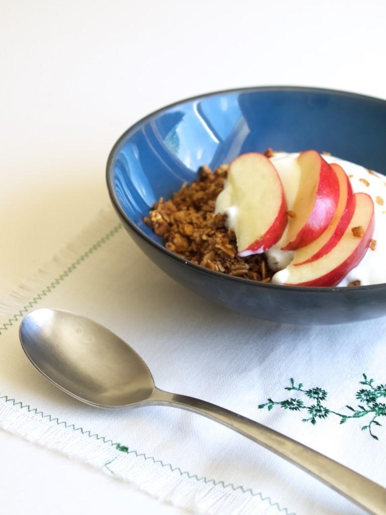Clean-out-the-cupboard granola recipe