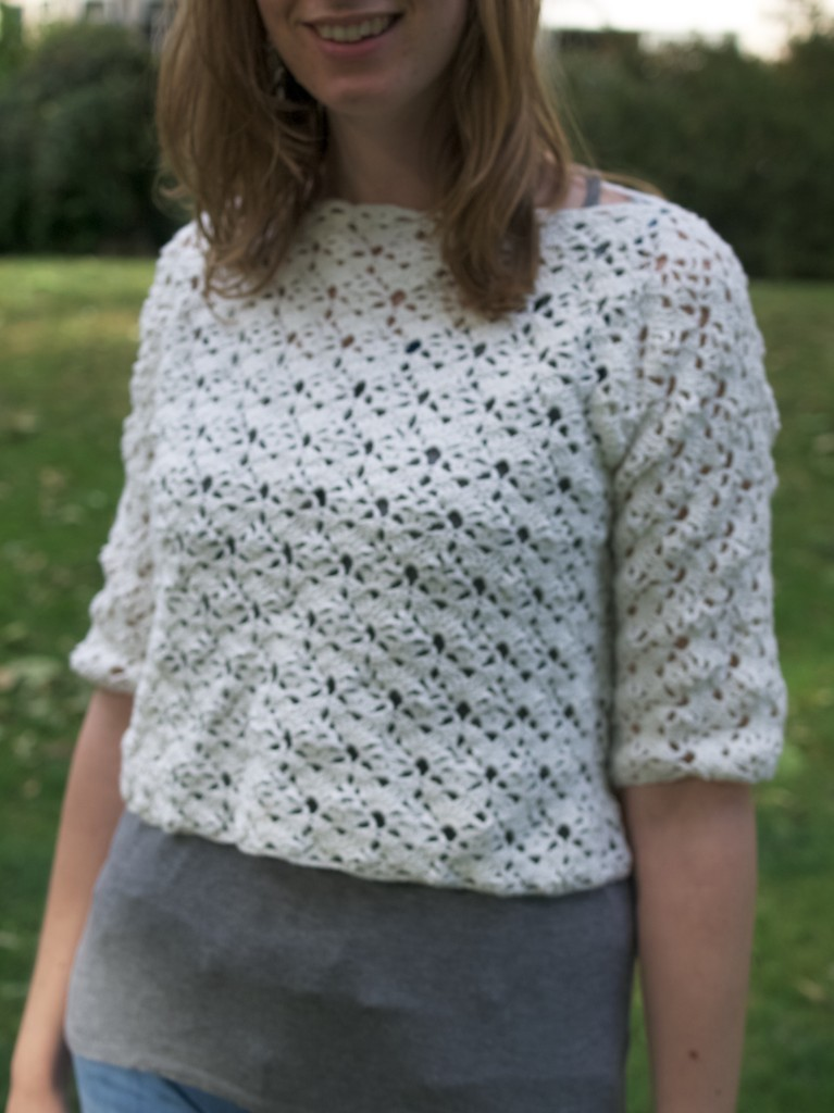 lacy crochet crop top, click here to find the pattern