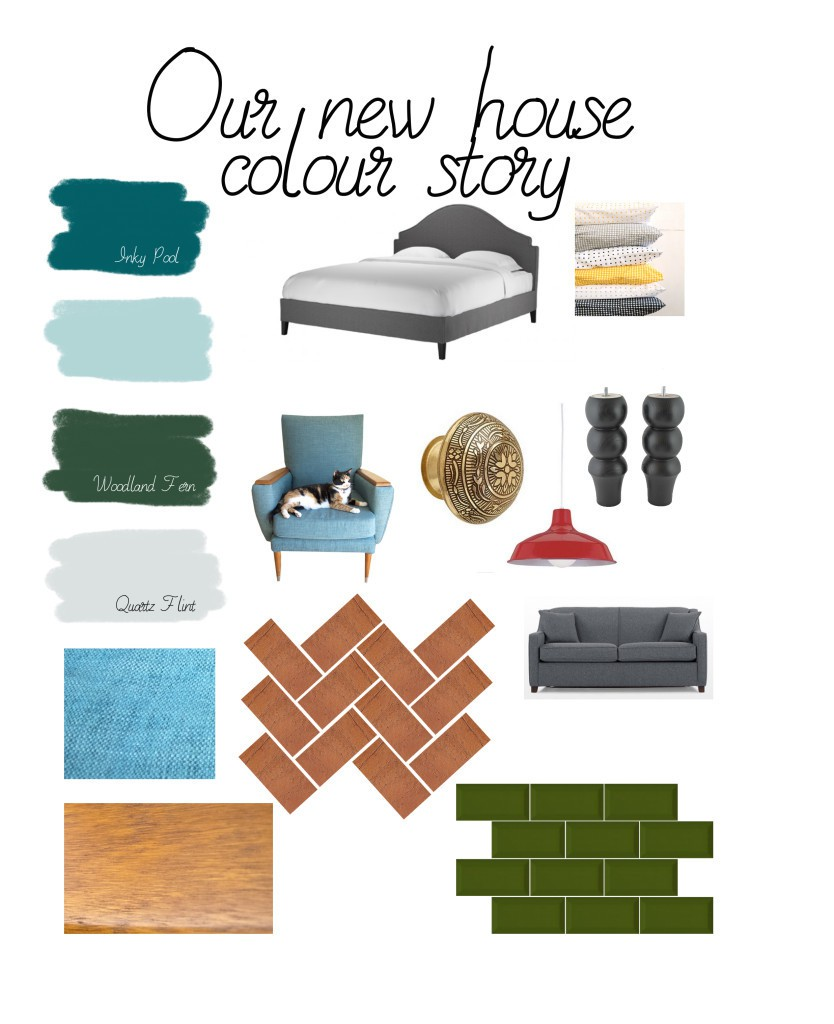 Our new home colour story