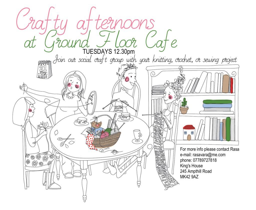 Craft group leaflets