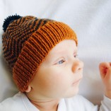 Baby Chevron Hat