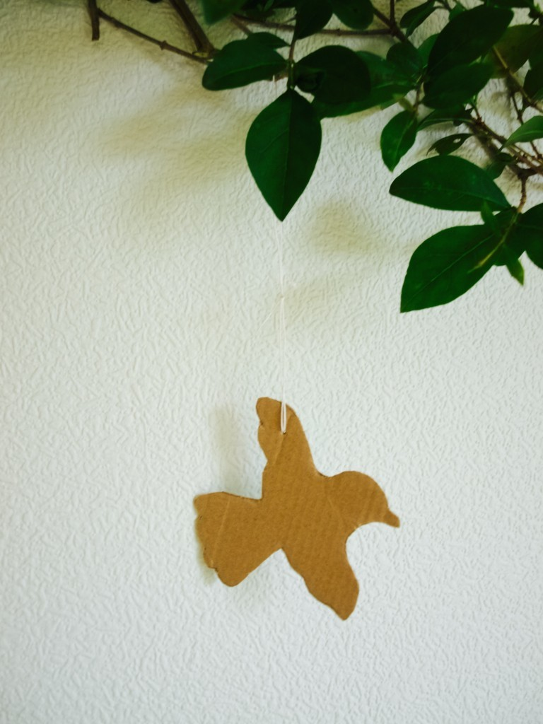 Temporary Easter wall decorations