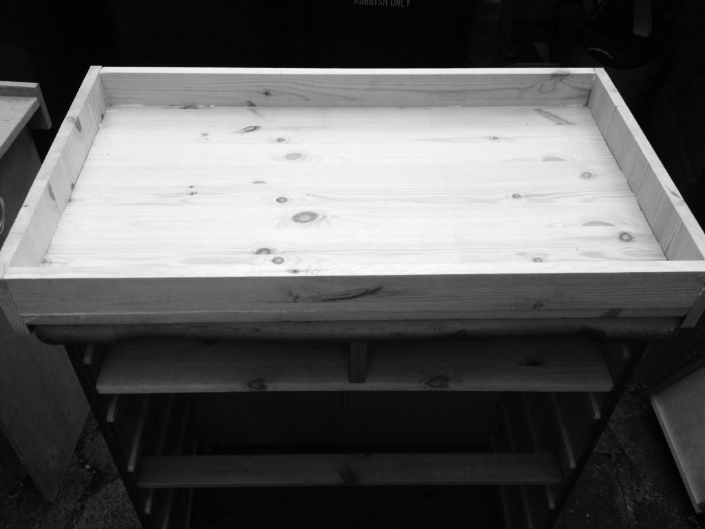 Custom changing tray DIY