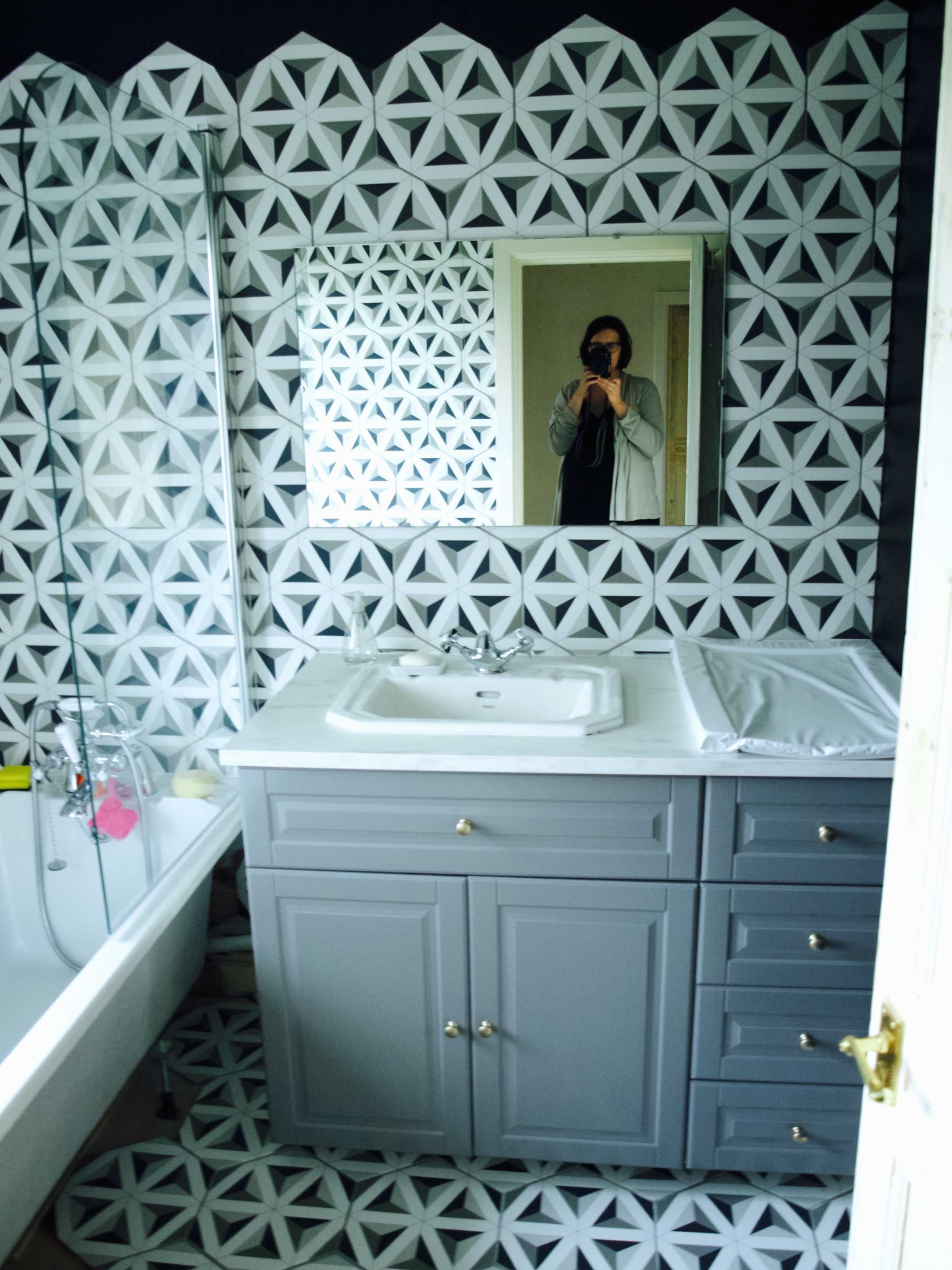 wall room herringbone bathroom hexagon design amazing simple tiles floor marble hex pictures and tile for diy mosaic ideas