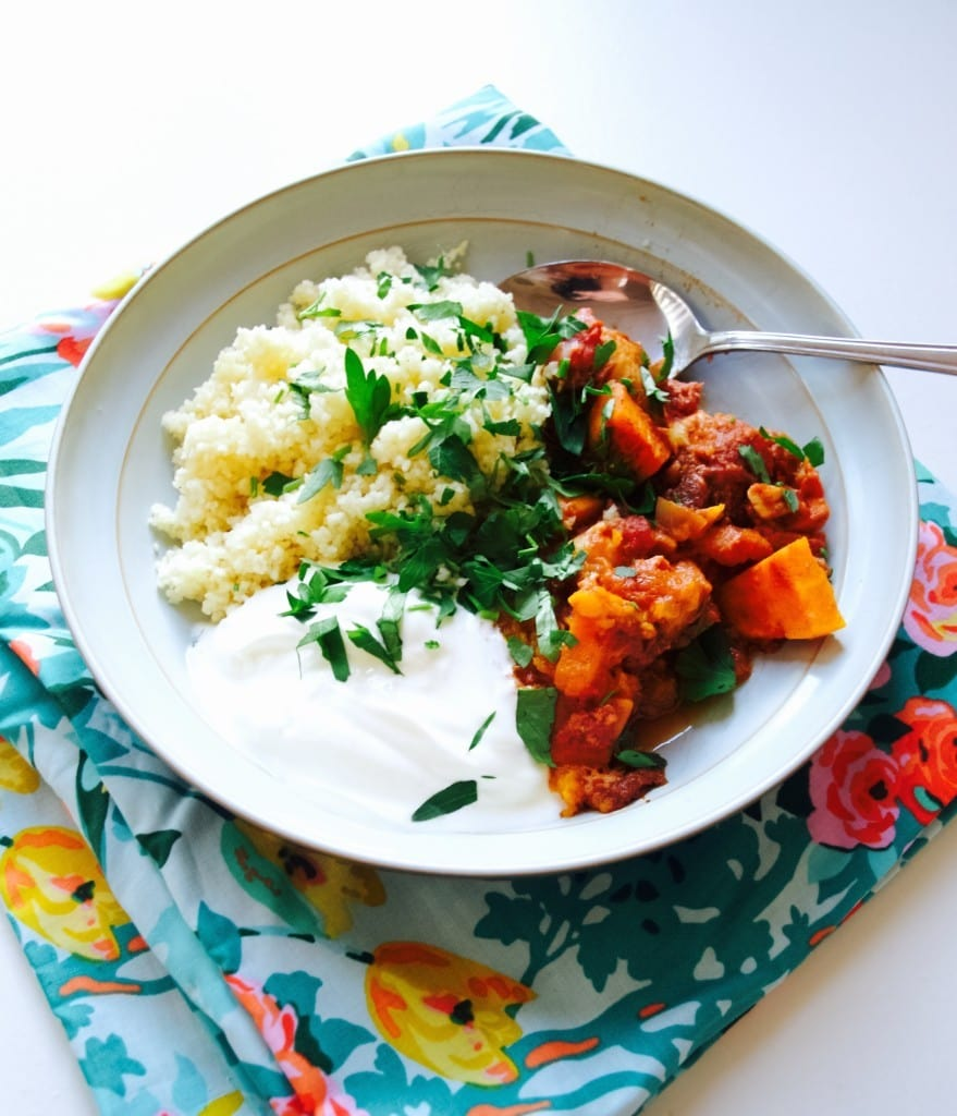 Easy slow cooker moroccan chicken recipe