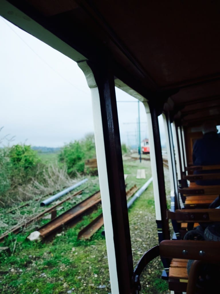 Devon in spring: on the way to Seaton by Tramway