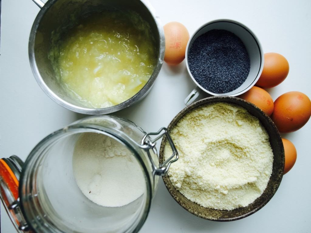 Baking with cooked lemon