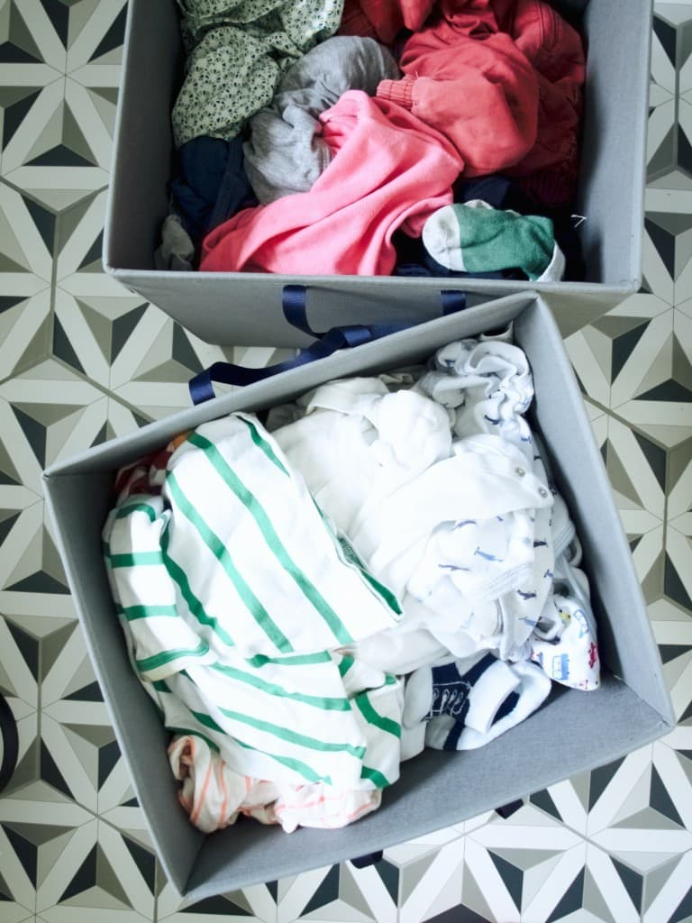 Ikea hack: custom laundry baskets