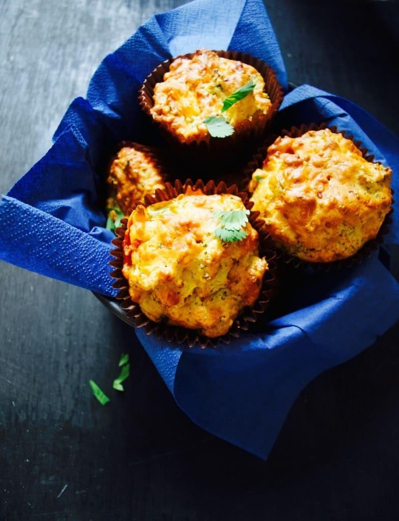 Full of veg savoury muffins recipe