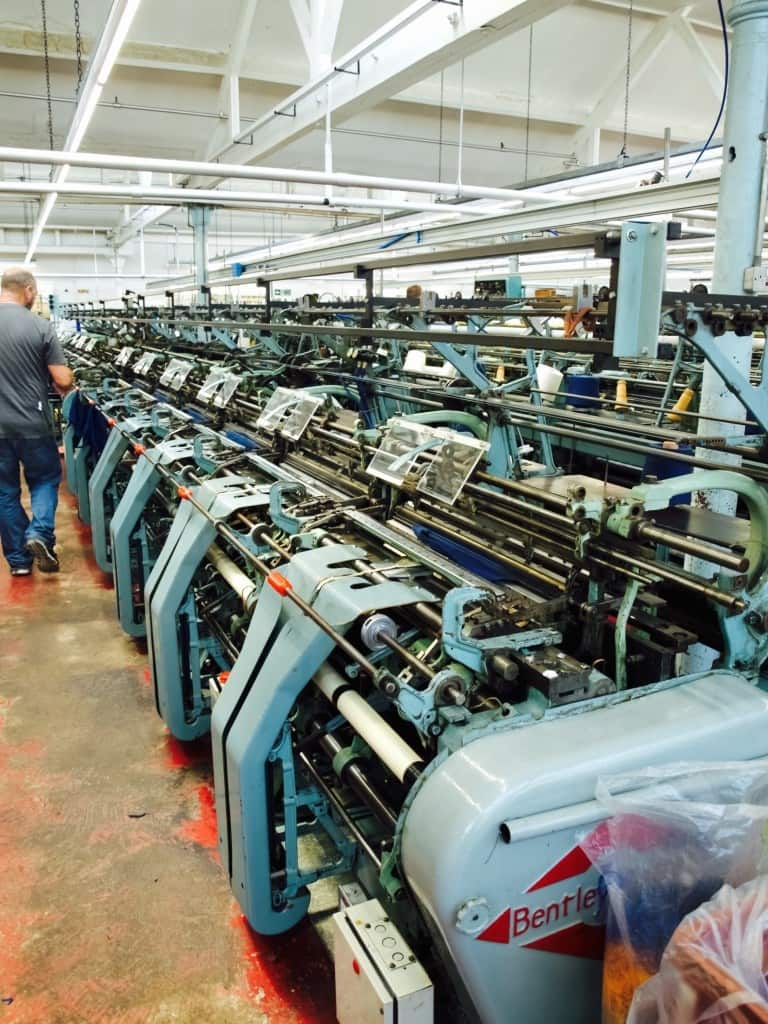 John Smedley factory tour