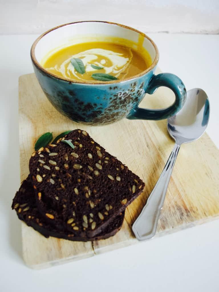 Apple and Butternut Squash soup recipe