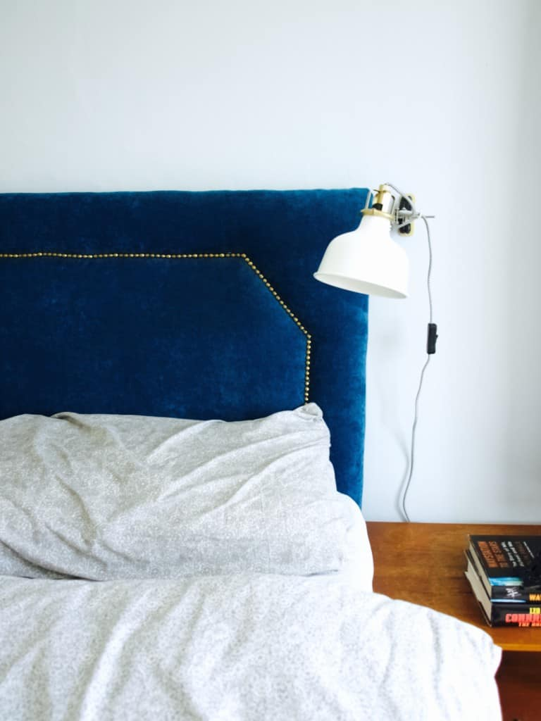 How we upholstered our bed