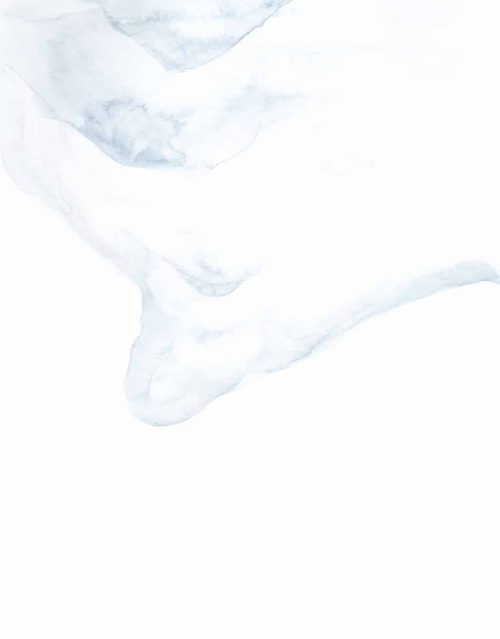 Watercolour challenge: snow