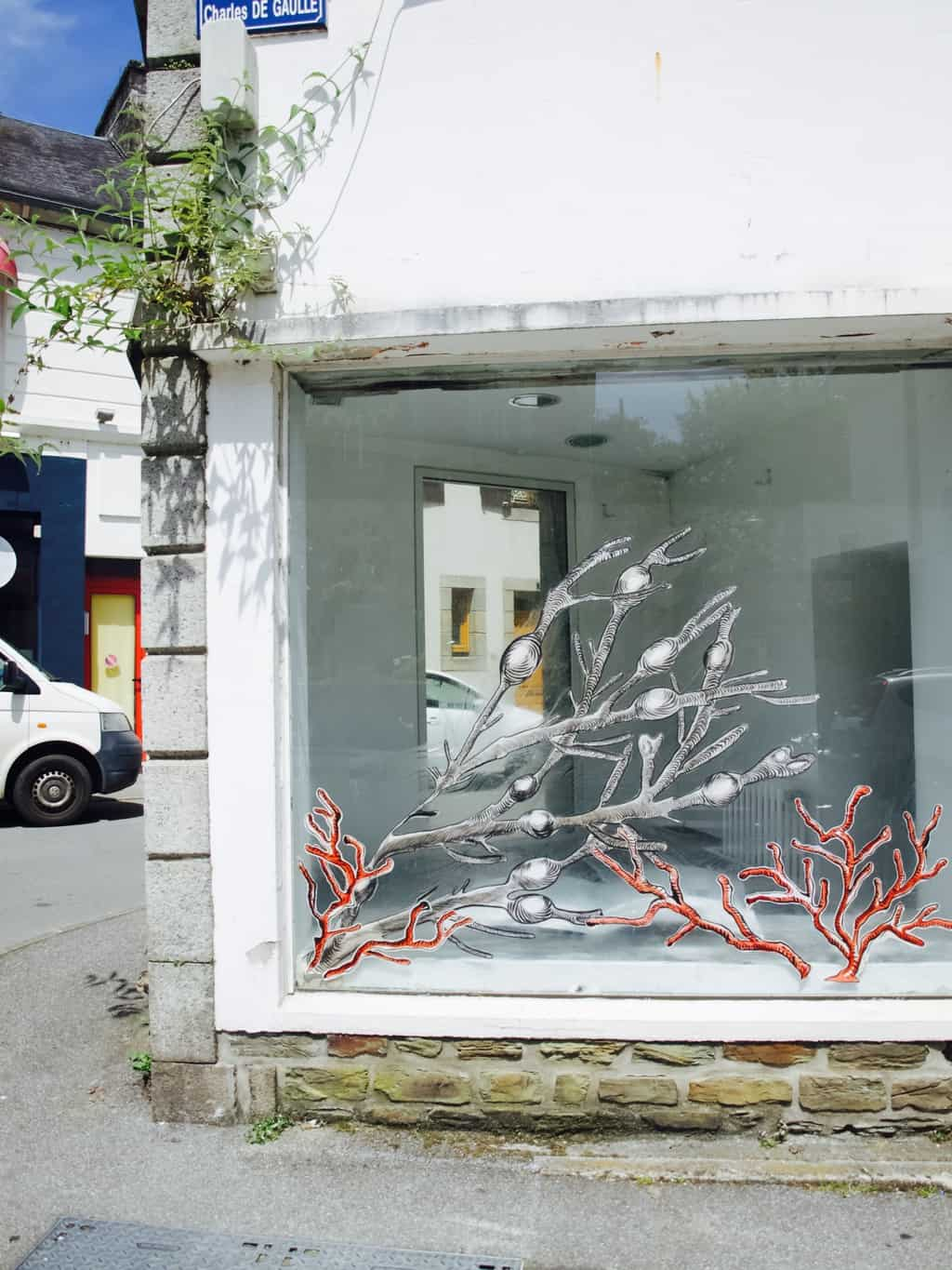 Watercolour challenge: underwater paintings inspired my mural walls in France
