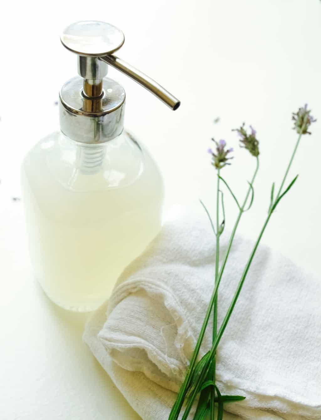 Quick and easy liquid hand soap recipe